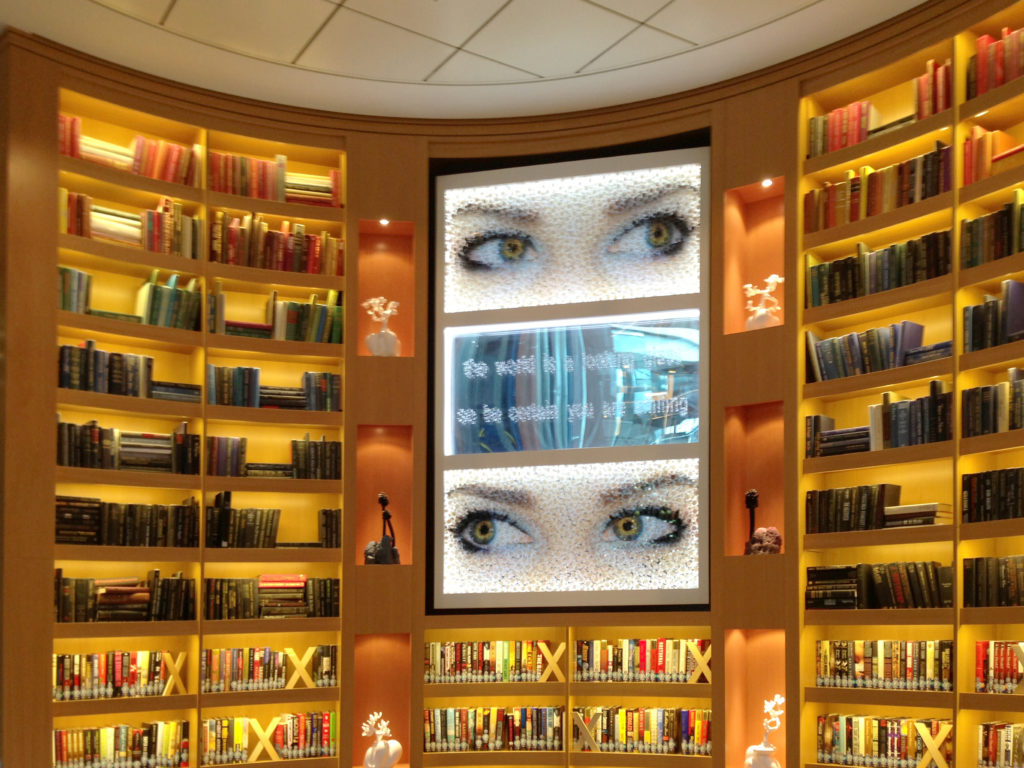 library eyes