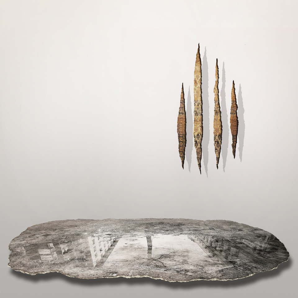 Weather / Weather / A Reversed Lucio Fontana