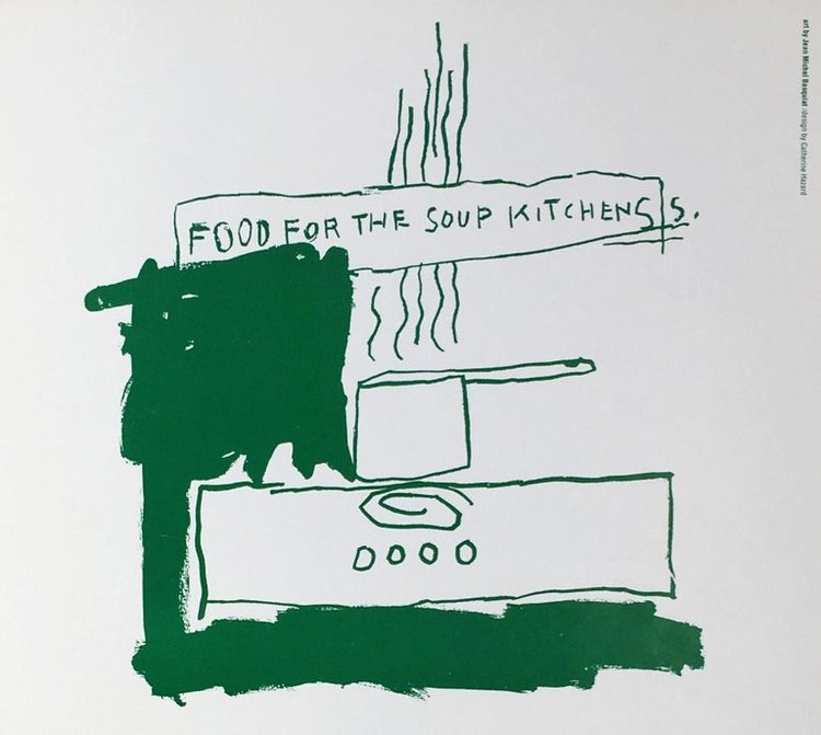 Basquiat Food for the Soup Kitchens