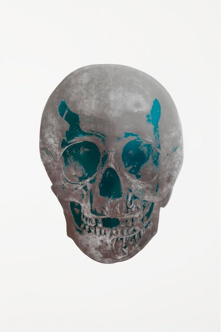 The Dead - Silver Gloss/Topaz